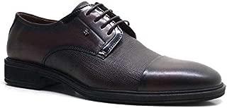 Hakiki Deri Kahverengi Bağcıklı Klasik Erkek Ayakkabı