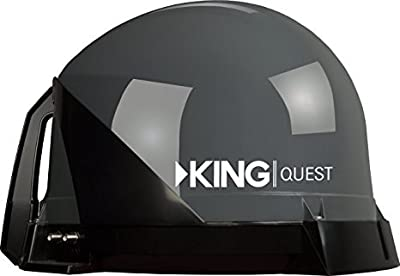 KING VQ4 Portable Satellite TV Antenna