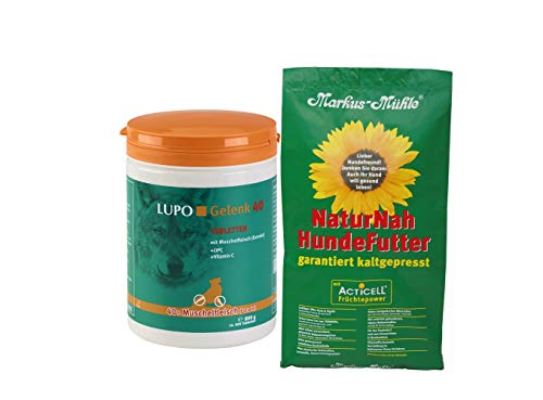 Luposan Lupo Gelenk 40 Tabletten 800g + gratis 1,5kg NaturNah Hundefutter