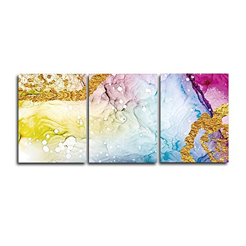 N / A Colorful Canvas Painting On The Wall for Home Decoration Posters and Woodblock Wall Picture Decoration Frameless 40x50cm