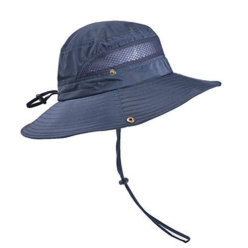 TAGVO Sombrero Ancho Sombreros para el Sol Protección UV Sombreros de Pescador...