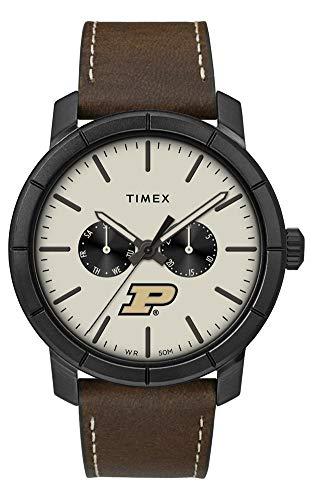Timex Men's Purdue University Watch Home Team Leather Watch