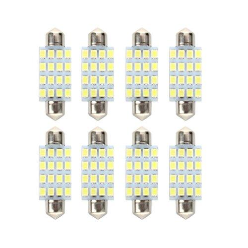 8X Bombilla Lampara 16 LED 352...