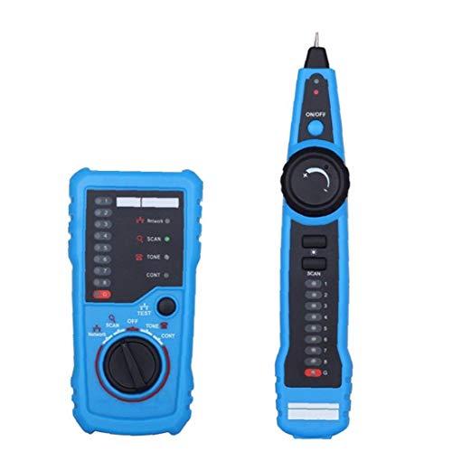 nJiaMe FWT11 Cable Tester Buscador de Línea perseguidor del Alambre del Cable de la Red de intercalación de la línea telefónica probador de continuidad Comprobación de Alta precisión