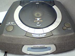 PHILIPS CD PLAYER ALARM CLOCK AND RADIO AJ3935