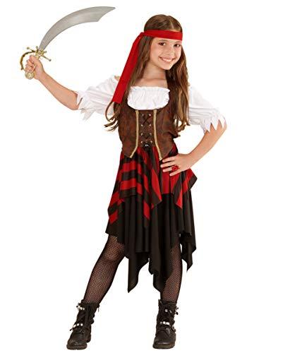 Horror-Shop Disfraz De Pirata para Las Chicas M 128