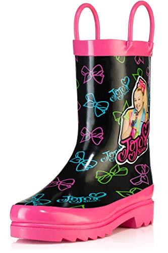 Nickelodeon JoJo Siwa Rain Boots - Size 1 Little Kid Pink\Black