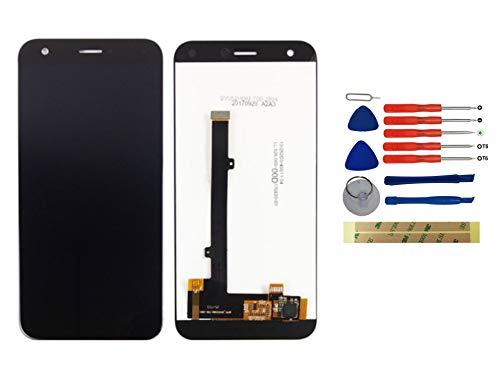 Yixi Pantalla para ZTE Blade A512 / ZTE Z10 5.2' Pantall LCD Pantalla Táctil Negro Repuesto de Pantalla Recambio (sin Marco)