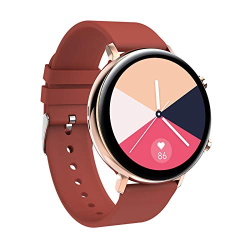AYZE Reloj Inteligente Impermeable Ip68 Pantalla IPS De 1,28', Batería De 200 mAh, Bluetooth para Responder Llamadas, Carga MagnéTica, Grabación De Datos De Fitness, Smartwatch Hombre GPS Red