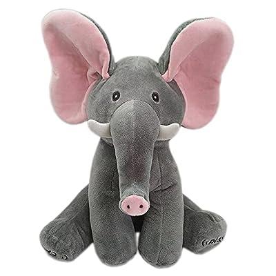 Amazon - 20% Off on Peek a Boo Elephant Animated Plush Singing Stuffed Animal Musical Interactive Toys for Babies