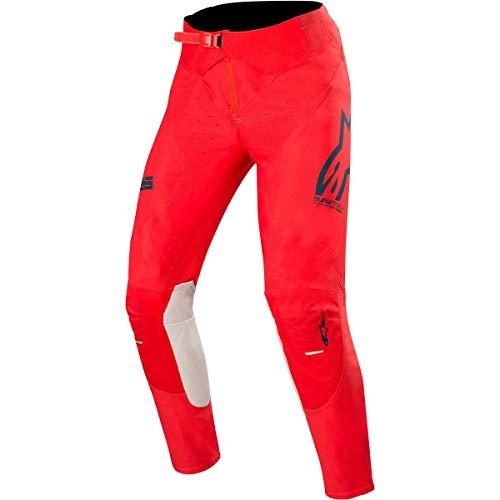 Alpinestars Cross broek Supertech zwart/oranje/rood fluo