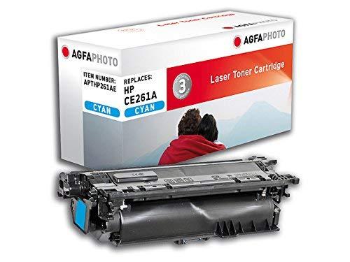 AgfaPhoto APTHP261AE Toner für HP CP4525, 11000 Seiten, cyan