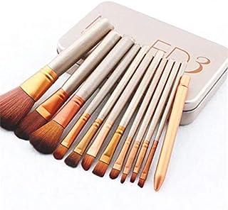 Make Up Brush with Travel Box Nevsetpo Cosmetics Brushes