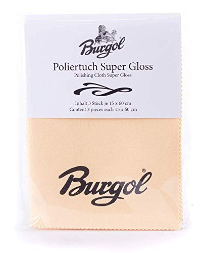 Burgol Poliertuch Super Gloss im 3er-Set