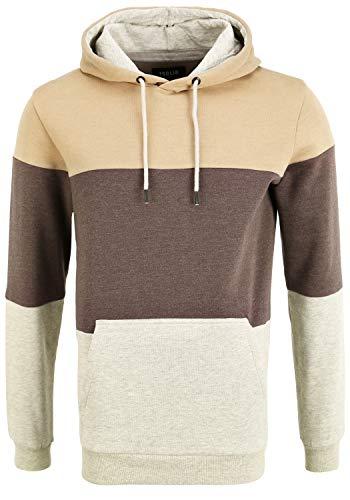 !Solid Gloi Herren Sweatshirt Pullover Pulli mit Kapuze, Größe:XXL, Farbe:Sand (171022)