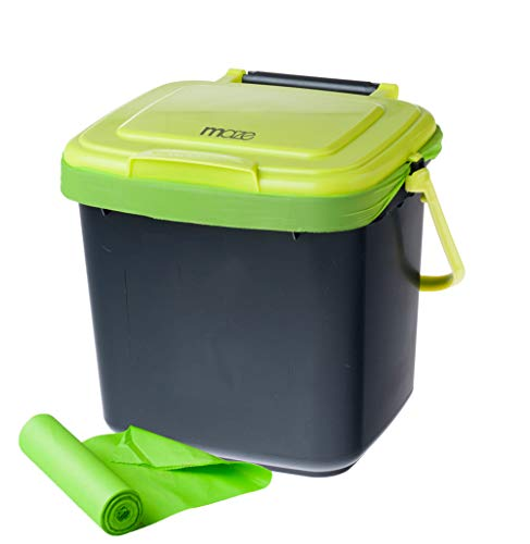 Buy Discount RSI RSI-MC-C7-COMBO Compost Bin, Black and Green