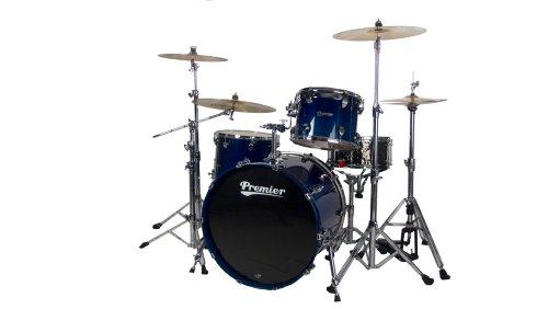 Premier Series Elite H289934QRHL Schlagzeug-Set, 3-teilig, Renee Blue