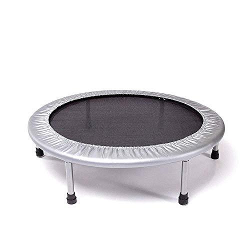 XBCDX Trampoline, Silent Fitness, mini-trampoline, rebounder voor binnenshuis, voor volwassenen, beste trainingsapparaat voor urbanes, cardio, jump, fitness, elastisch touwsysteem