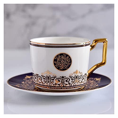 YUANLIN porzellantasse Keramik Nachmittag Tee Kaffeetasse Anzug Originalität China Gold Hold Kaffeetasse Geschenk Tasse und Untertasse Reise Kaffeetasse Kaffee Set porzellantasse Bone China