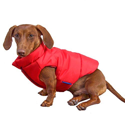 DJANGO Puffer Dog Jacket and Reversible Cold Weather Dog Coat