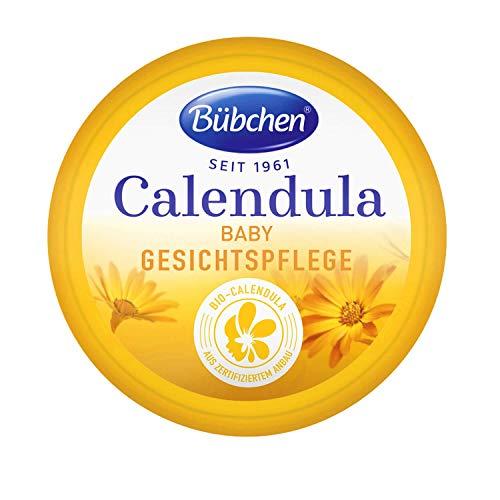 Bübchen Calendula Gesichtspflege, mit BIO-Calendula zum Schutz empfindlicher Babyhaut, 1er Pack (20ml Bübchen Calendula Gesichtspflege)