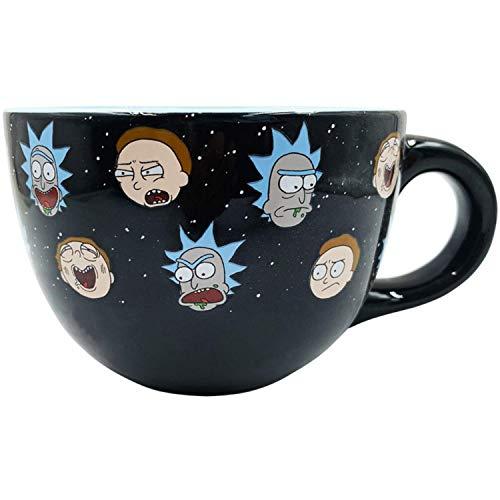 Silver Buffalo Ceramic Soup Mug