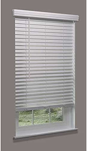 Linen New Shipping Free Avenue Cordless Faux Wood Blind Max 48% OFF White 67-1 44 x 2