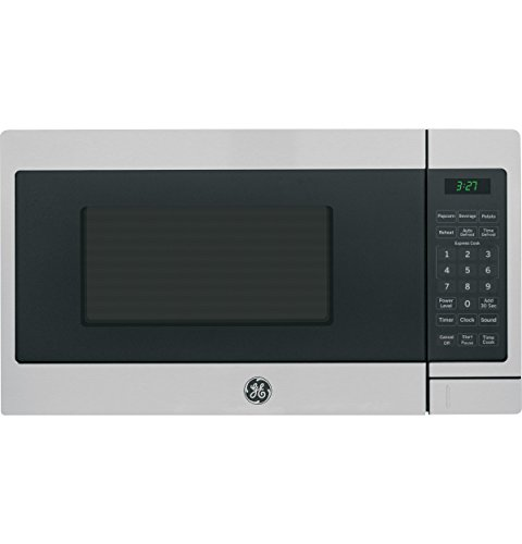 GE Appliances JEM3072SHSS GE 0.7 Cu. Ft. Capacity Countertop Microwave Oven, Stainless Steel