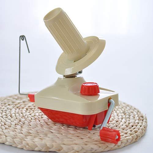 xxiaoTHAWxe Winder Holder, Knitting Crochet Hand Operated Swift Yarn Wool String Ball Skein Winder Holder Domestic Handmade DIY Weaving Tool - Best Gift!