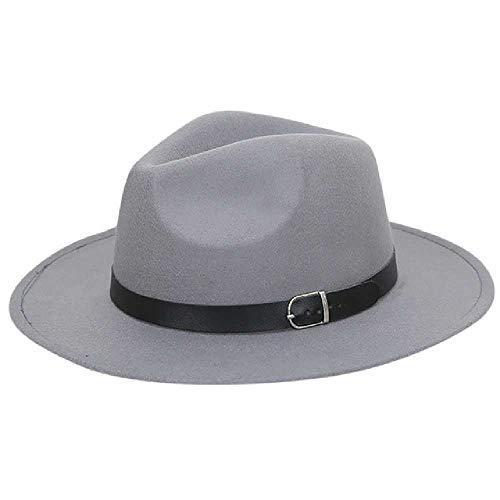 zhuao dames kapotte schapenhoed, brede hoed met riem, honkbal emmer winterhoed