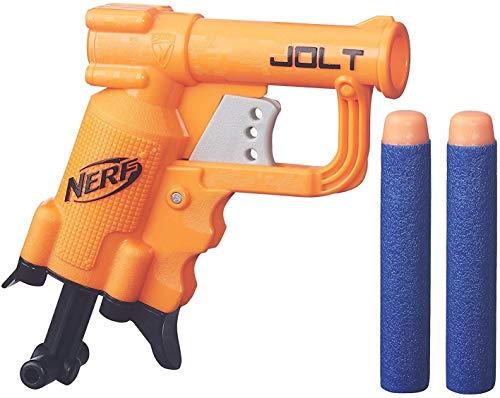 Nerf N-Strike Elite Jolt Blaster, Color Naranja, Tamaño Compacto (Hasbro B8802)