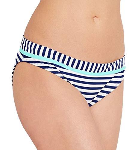 Cleo by Panache Lucille Classic Bikini Swim Brief (CW0069),Large,Nautical Print