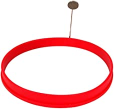 Chef Pro Silicone Egg Ring, 4-Inch, Red