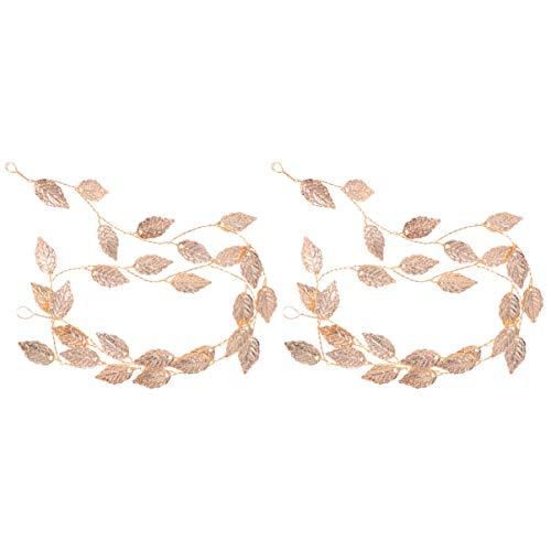 Lurrose 2 piezas de pan de oro pan de cabeza de aleación...