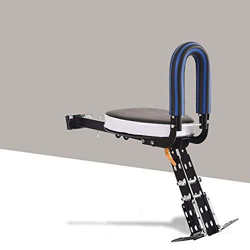 Hinten Fahrrad-Kindersitz - Rahmenmontage, einstellbar auf Fit Kids Fahrradkindersitz vorne tragbare Schnellspanner Mountainbike Babysicherheitssitz Fahrrad Fahrradkindersitz ( Color : E , Size : - )