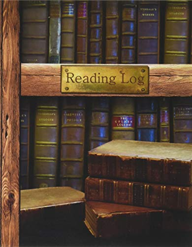 """Reading Log: Gifts for Book Lovers / Reading Journal [ Softback * Large (8"""" x 10"""") * Antique Books * 100 Spacious Record Pages & More... ] (Reading Logs & Journals)"""