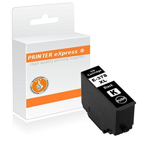Printer-eXpress Tintenpatrone kompatibel mit Epson 378, 378XL für Expression Photo HD XP-15000, XP-8000, XP-8005, XP-8500, XP-8505 Drucker - 520 Seiten schwarz