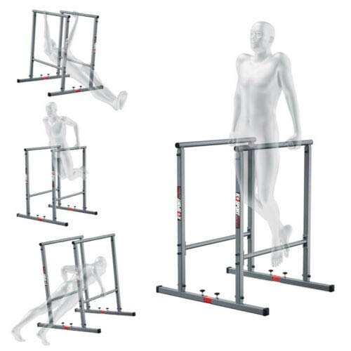 K-Sport Parallettes pour musculation et entraînement à la maison - réglables, stables
