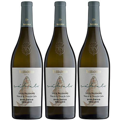 Barbadillo Sábalo | Vino Blanco Ecologico con Indicación Geográfica Protegida - Estuche 3 x 75 cl