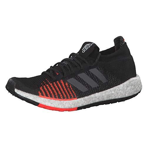 adidas Performance PulseBoost HD Laufschuh Herren schwarz/rot, 9 UK - 43 1/3 EU - 10.5 US