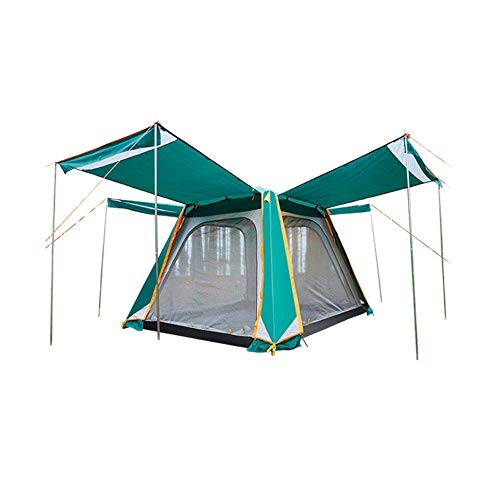 AYDQC Tienda de campaña campaña Pop-up, Carpas de Camping de mochilero Refugio de Sol for Senderismo Escalada en la Playa jardín Camping Pesca Picnic 5-8 Persona al Aire Libre fengong