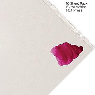 Fabriano Artistico Watercolor Paper 300 lb. Hot Press 10-Pack 22x30