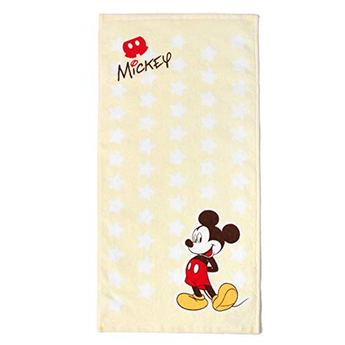 Toalla de Gasa de algodón para niños Toalla de Secado rápido Suave para niños de Dibujos Animados 25x50cm-mickey_25x50cm