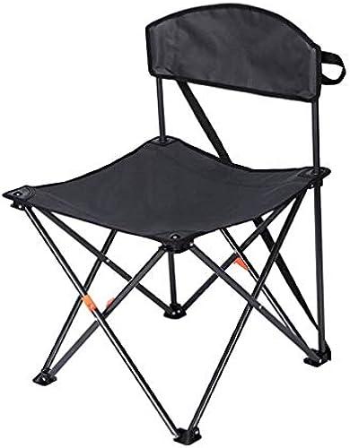 LLSZ Klappstuhl, Campingstühle, Reisestuhl Slacker Chair, Klappstuhl Outdoor Metall Oxford Tuch Tragbare Anti Rutsch Stabiles Licht Strandkorb Angeln Hocker Reise