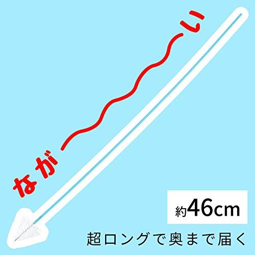 レック激落ちくん排水管お掃除ロングブラシ46cm(3本入)使い捨てタイプS00002
