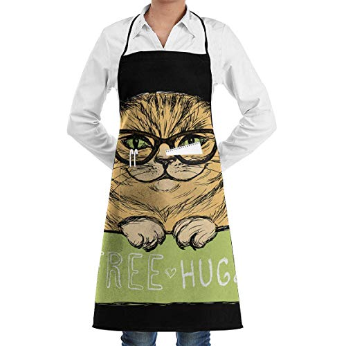 Mundschutz, Sturmhaube, Panda In The Retro National Style 1 Piece Adjustable Apron Pocket for Men and Women In Cooking, Barbecuing and Baking austauschbarem Filter Polyester