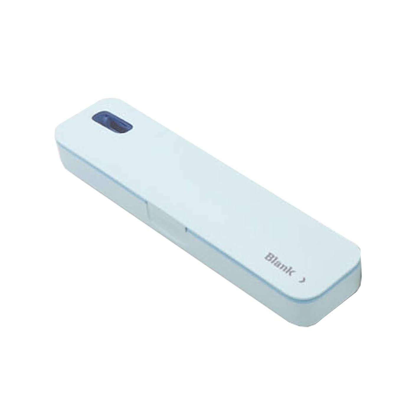 米ドル予測内部iriver TBS-A500ポータブル紫外線歯ブラシ消毒剤 (Blue)