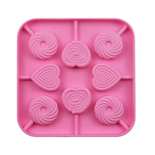 Peach Heart Chocolate Mold Fondant Mold Silicone Diy Lollipop Cheese Cake Decorating Tool Round Biscuit Pastry Baking