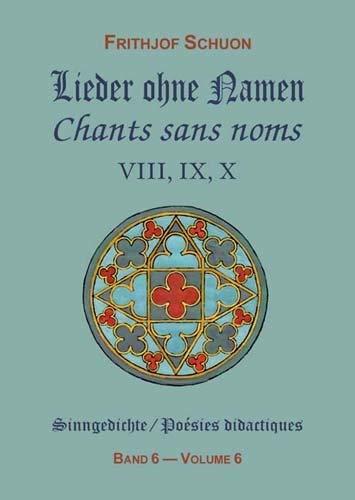 Sinngedichte / Lieder ohne Namen VIII, IX, X