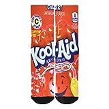 Seorsok Men's Novelty Socks Colorful Fun Cool 3D Print Sports Crew Tube Socks - C-kool Aid